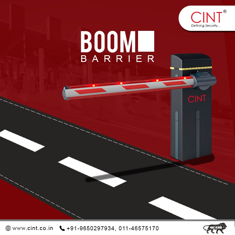 What is the role of an automatic boom barrier in making an advance Security System?