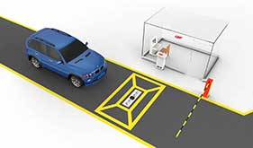 Under Vehicle car scanner system